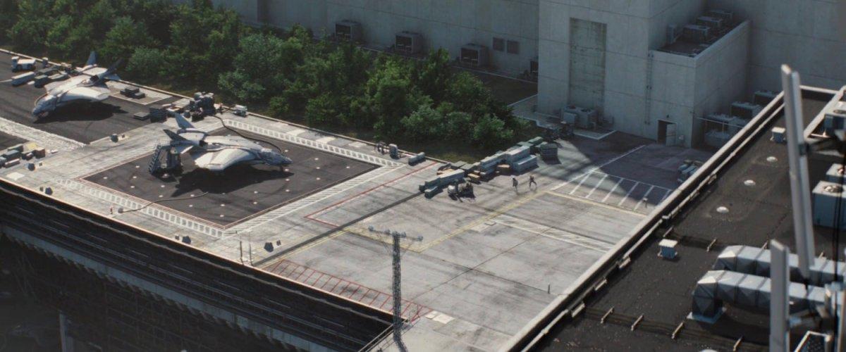 SHIELD Helicarrier Decks | MCU LocationScout