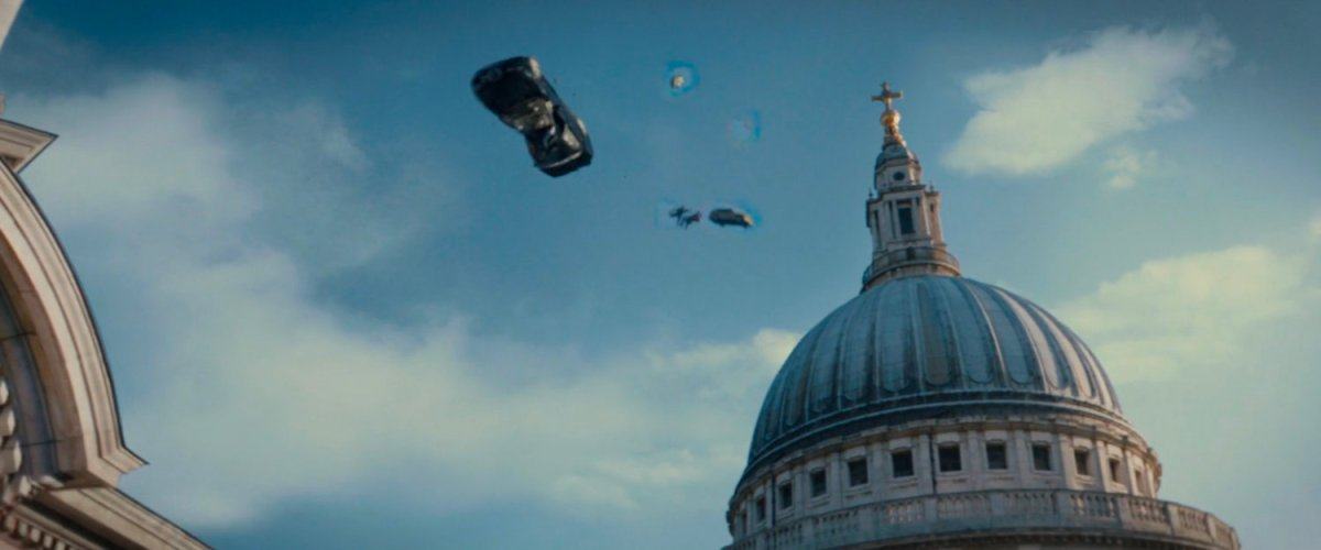 Fight – St Paul's Cathedral | MCU LocationScout