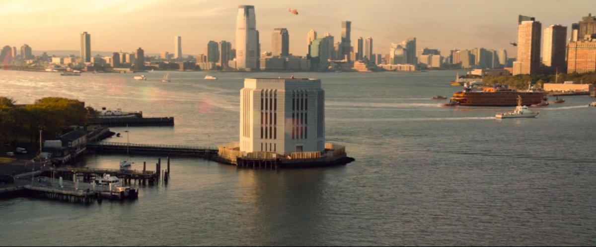 Brooklyn Battery Tunnel Ventilation Building, New York | MCU: LocationScout