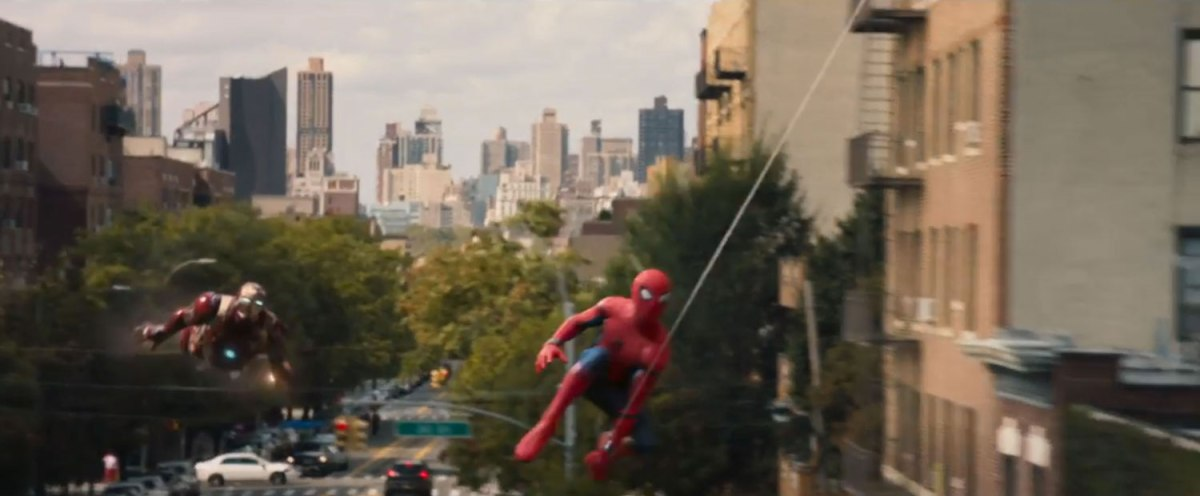 Iron Man & Spidey Flyover, Trailer | MCU: LocationScout