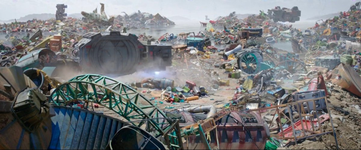 Dump, Sakaar | MCU: LocationScout