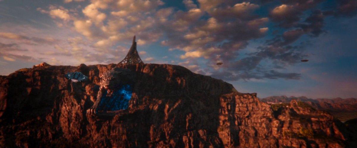 Mount Bashenga, Wakanda   MCU: LocationScout