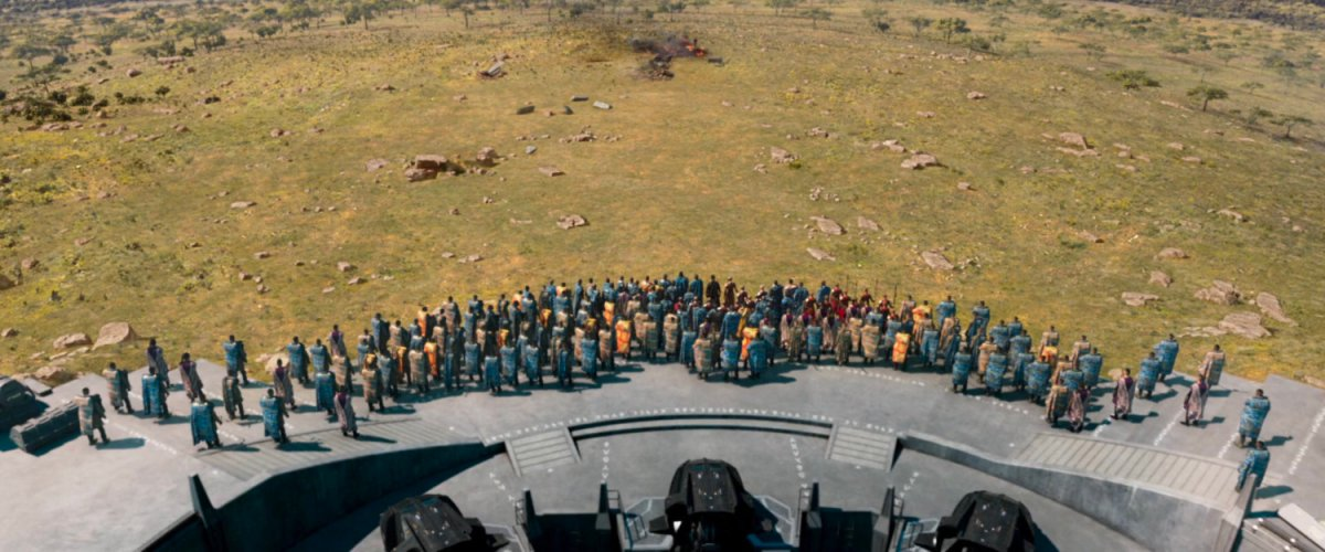 Border Tribe Village & Final Battle, Wakanda    MCU: LocationScout