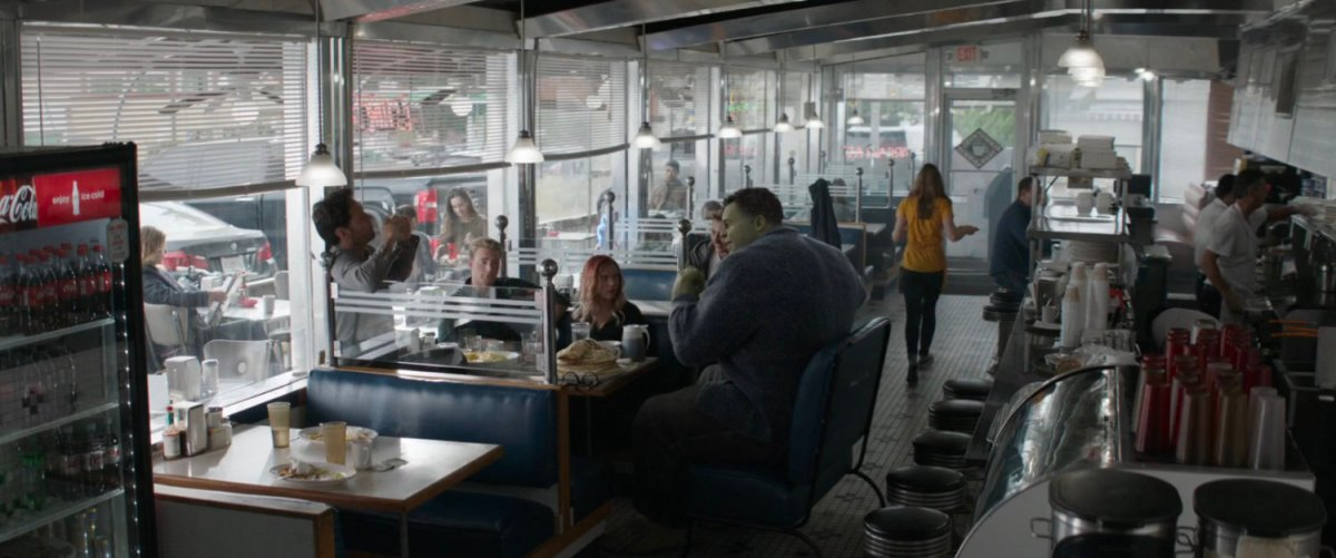 Diner, New York | MCU: LocationScout