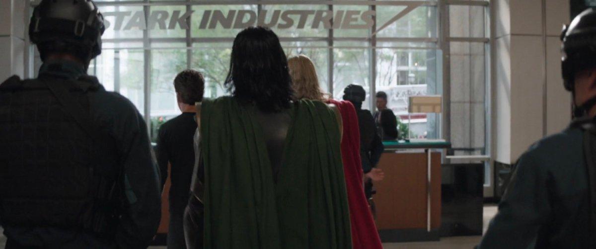Stark Industries Lobby, New York (2012) | MCU: LocationScout