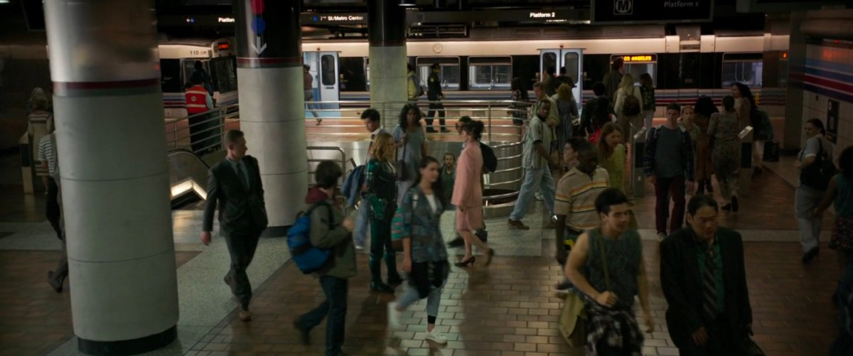 Metro Station, Los Angeles | MCU: LocationScout